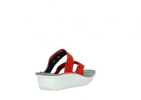 wolky slippers 00877 martinique 12500 rood nubuck_9
