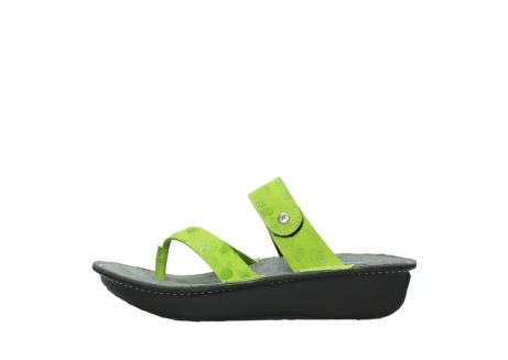 wolky slippers 00877 martinique 12750 lime nubuck_1