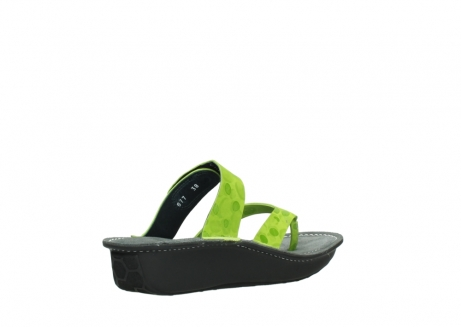 wolky slippers 00877 martinique 12750 lime nubuck_10