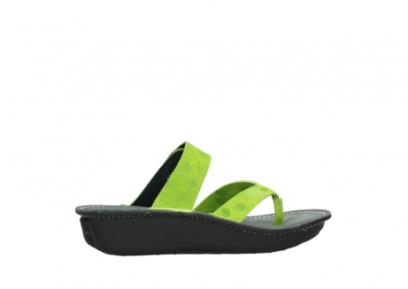 wolky slippers 00877 martinique 12750 lime nubuck_12