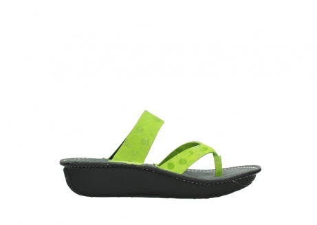 wolky slippers 00877 martinique 12750 lime nubuck_13