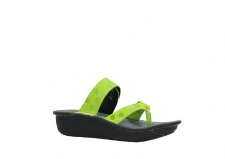 wolky slippers 00877 martinique 12750 lime nubuck_15