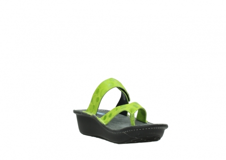 wolky slippers 00877 martinique 12750 lime nubuck_17