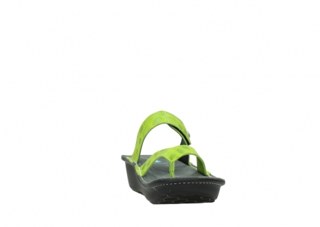 wolky slippers 00877 martinique 12750 lime nubuck_18