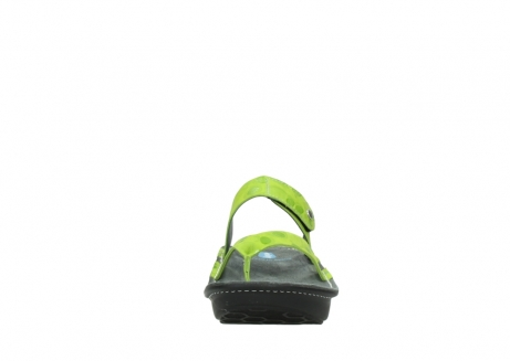 wolky slippers 00877 martinique 12750 lime nubuck_19