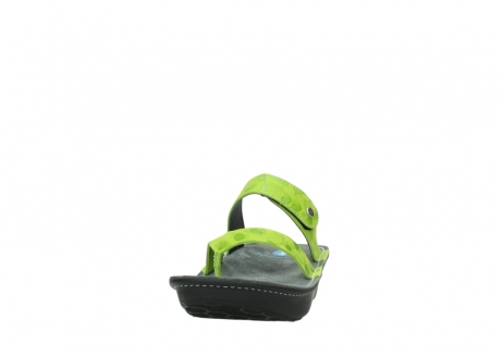 wolky slippers 00877 martinique 12750 lime nubuck_20