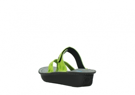 wolky slippers 00877 martinique 12750 lime nubuck_5