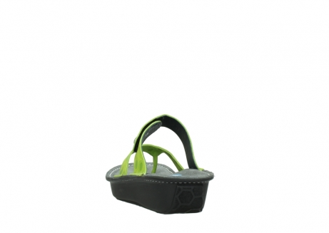 wolky slippers 00877 martinique 12750 lime nubuck_6
