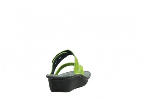 wolky slippers 00877 martinique 12750 lime nubuck_8