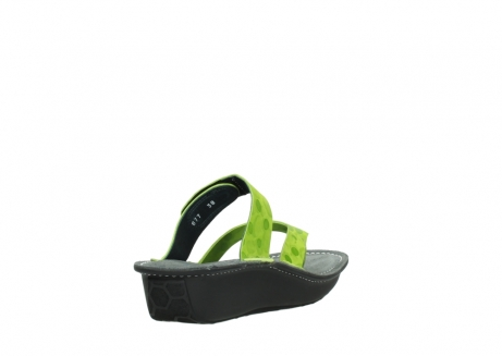 wolky slippers 00877 martinique 12750 lime nubuck_9