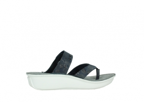wolky slippers 00877 martinique 12800 blauw nubuck_12