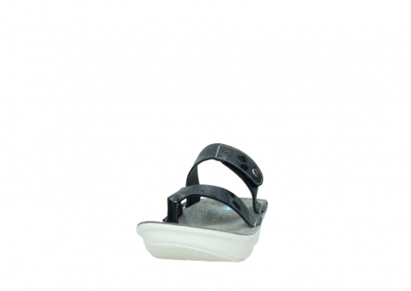 wolky slippers 00877 martinique 12800 blauw nubuck_20