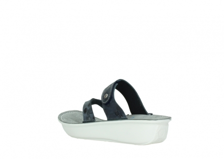 wolky slippers 00877 martinique 12800 blauw nubuck_4