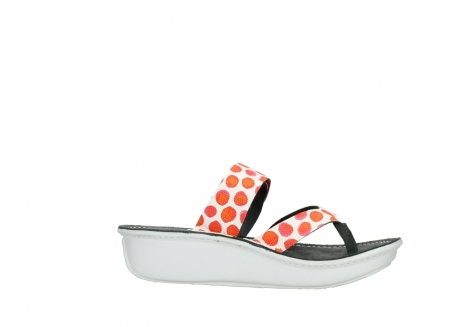 wolky slippers 00877 martinique 95500 white red spots leather_14