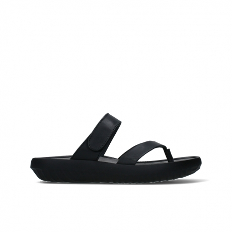 wolky slippers 00880 tahiti 31002 black leather