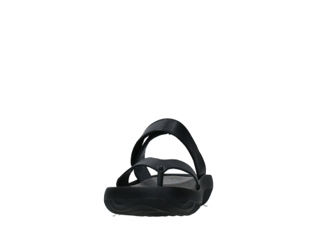 wolky slippers 00880 tahiti 31002 black leather_8