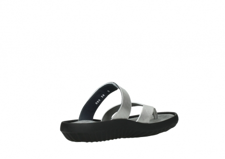 wolky slippers 00880 tahiti 85130 silver leather_10