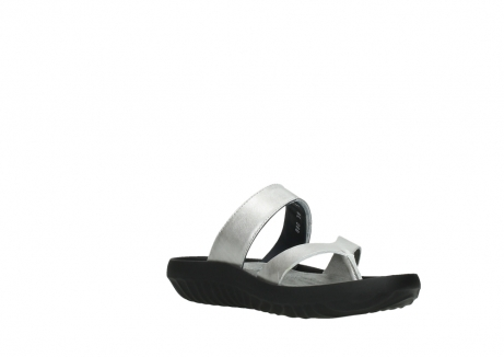 wolky slippers 00880 tahiti 85130 silver leather_16