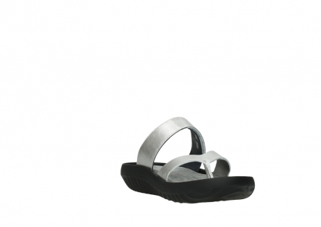 wolky slippers 00880 tahiti 85130 silver leather_17