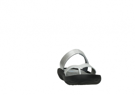 wolky slippers 00880 tahiti 85130 silver leather_18