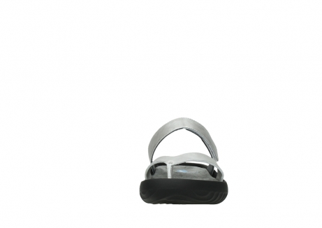 wolky slippers 00880 tahiti 85130 silver leather_19