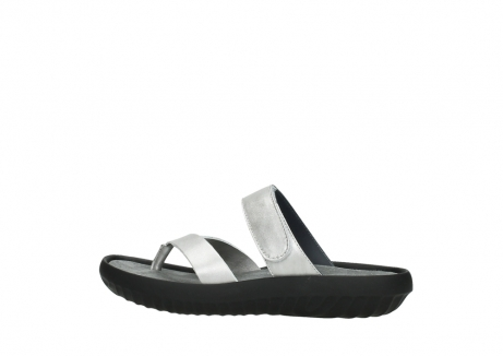 wolky slippers 00880 tahiti 85130 silver leather_2