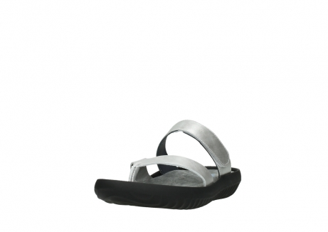wolky slippers 00880 tahiti 85130 silver leather_21