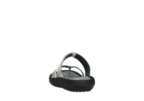 wolky slippers 00880 tahiti 85130 silver leather_6