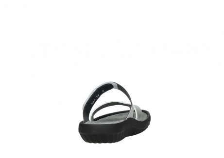 wolky slippers 00880 tahiti 85130 silver leather_8
