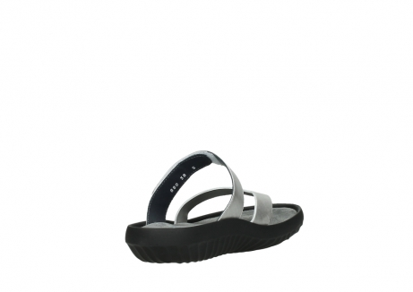 wolky slippers 00880 tahiti 85130 silver leather_9