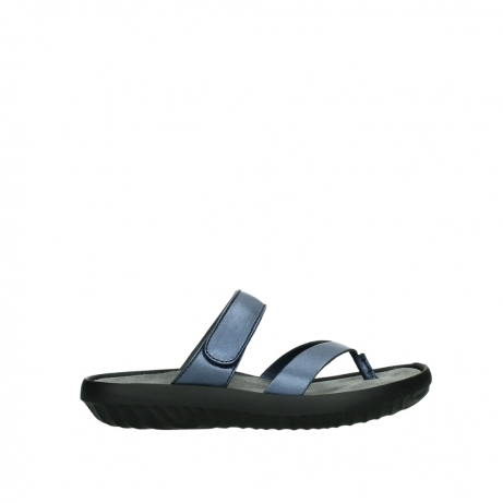 wolky slippers 00880 tahiti 85800 blue leather