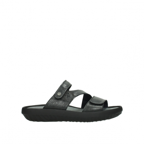 wolky slippers 00885 sense 30000 black leather