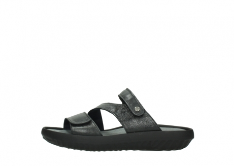 wolky slippers 00885 sense 30000 black leather_1