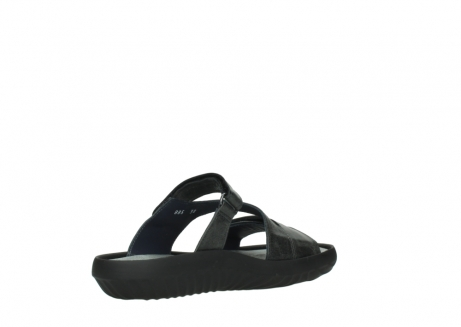 wolky slippers 00885 sense 30000 black leather_10