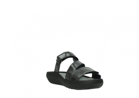wolky slippers 00885 sense 30000 black leather_17