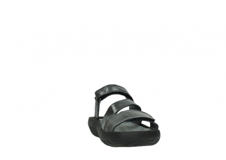 wolky slippers 00885 sense 30000 black leather_18