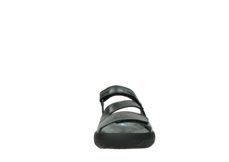 wolky slippers 00885 sense 30000 black leather_19