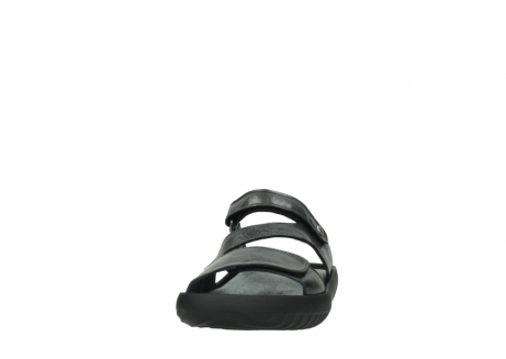wolky slippers 00885 sense 30000 black leather_20