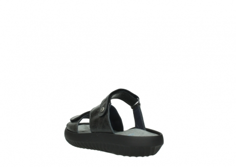 wolky slippers 00885 sense 30000 black leather_5