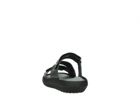 wolky slippers 00885 sense 30000 black leather_6