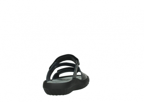 wolky slippers 00885 sense 30000 black leather_8