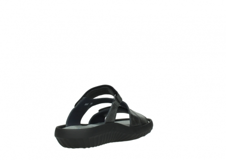wolky slippers 00885 sense 30000 black leather_9