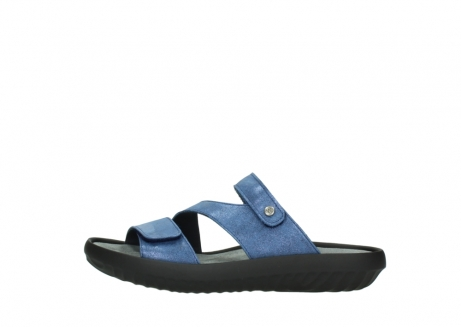 wolky slippers 00885 sense 70800 blue leather_1