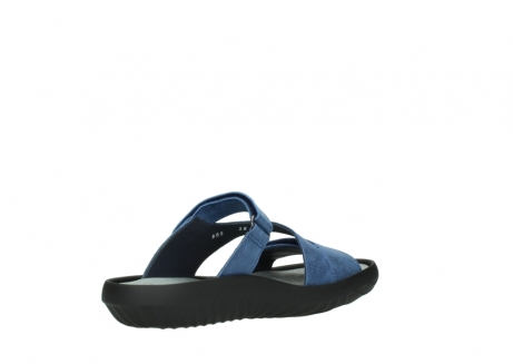 wolky slippers 00885 sense 70800 blue leather_10