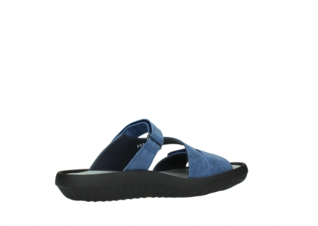 wolky slippers 00885 sense 70800 blue leather_11