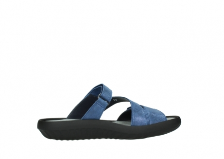wolky slippers 00885 sense 70800 blue leather_12