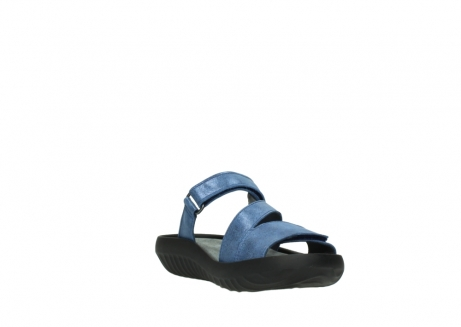 wolky slippers 00885 sense 70800 blue leather_17
