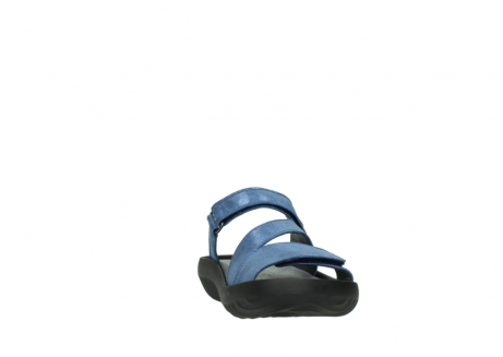 wolky slippers 00885 sense 70800 blue leather_18