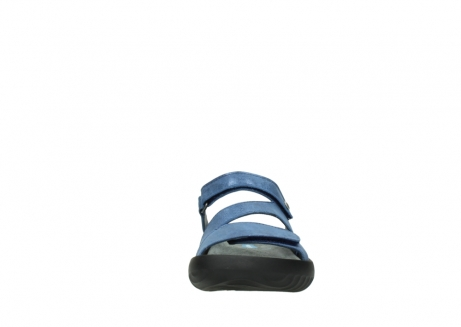 wolky slippers 00885 sense 70800 blue leather_19