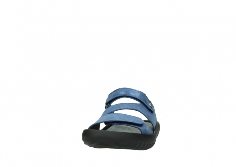 wolky slippers 00885 sense 70800 blue leather_20